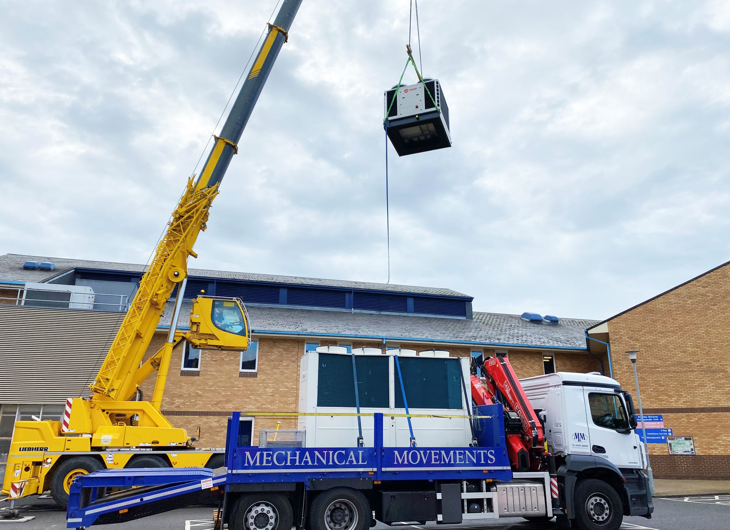 Chillers in Chertsey – Special Delivery at St Peter's Hospital